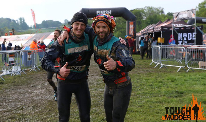 Max & Sven Toughest Mudder Midlands 2018