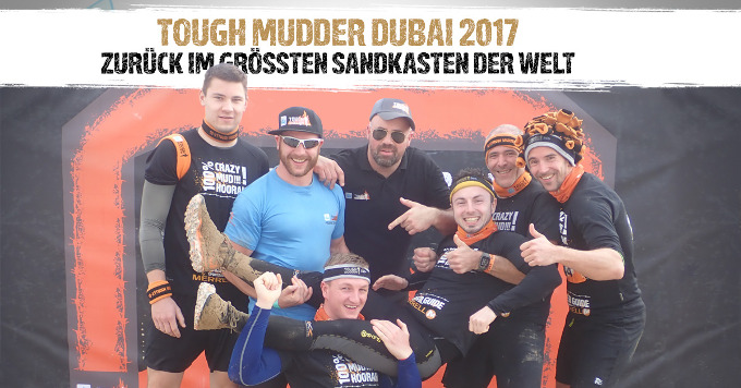 Tough Mudder Dubai 2017