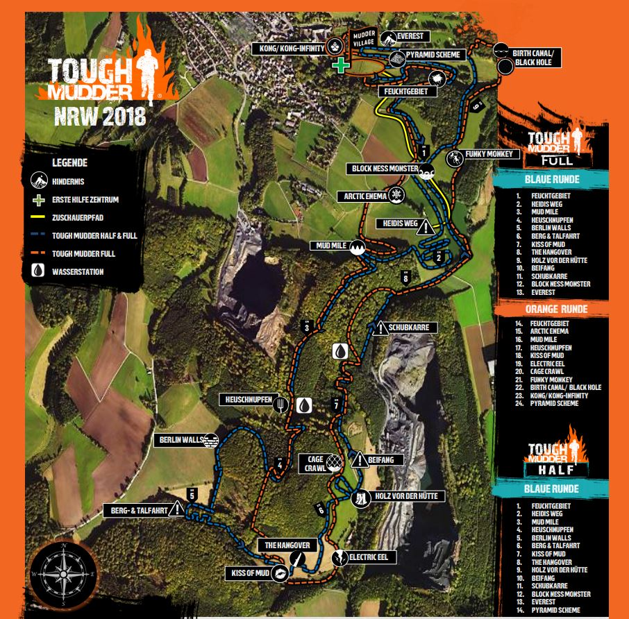 Tough Mudder Nrw 2018 Eventbericht Oldie But Goldie